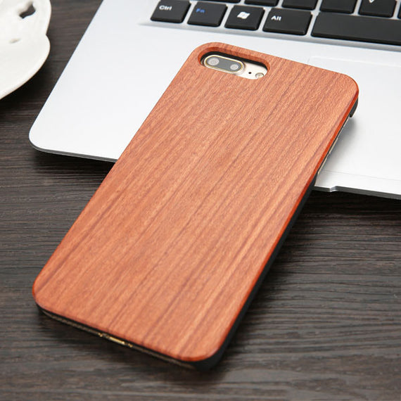 High Quality Durable Natural Rosewood Bamboo Walnut Wooden Hard Phone Cases For iPhones-Dee SuSu-Rosewood-For iphone 5 5s SE-Dee SuSu