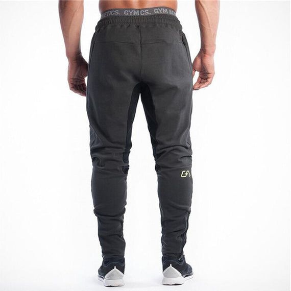 Men's Casual Joggers Fitness Sweatpants-Dee SuSu-As shown in figure-XL-Dee SuSu