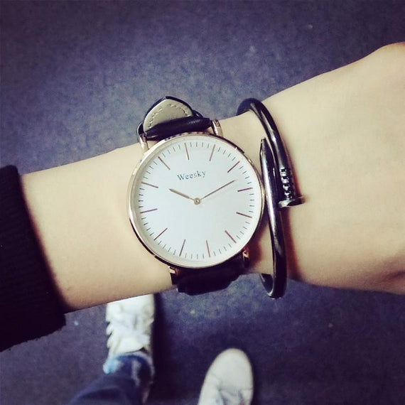 Oversized Boyfriend Watch-Dee SuSu-Black-Dee SuSu