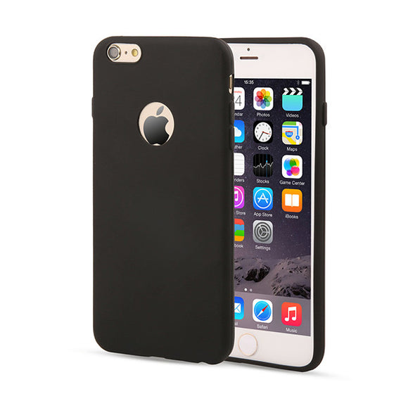 Candy Color Silicon iPhone Cases-Dee SuSu-Black-For Iphone 5 5s SE-Dee SuSu