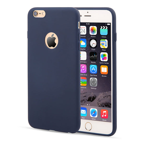 Candy Color Silicon iPhone Cases-Dee SuSu-Dark Blue-For Iphone 5 5s SE-Dee SuSu