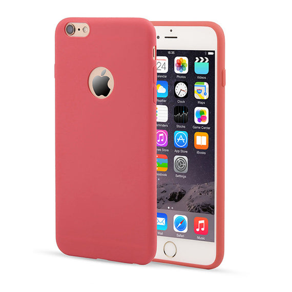 Candy Color Silicon iPhone Cases-Dee SuSu-Red-For Iphone 5 5s SE-Dee SuSu