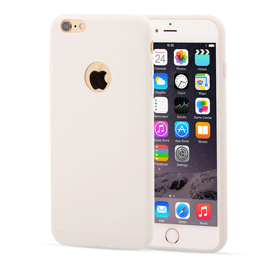 Candy Color Silicon iPhone Cases-Dee SuSu-White-For Iphone 5 5s SE-Dee SuSu