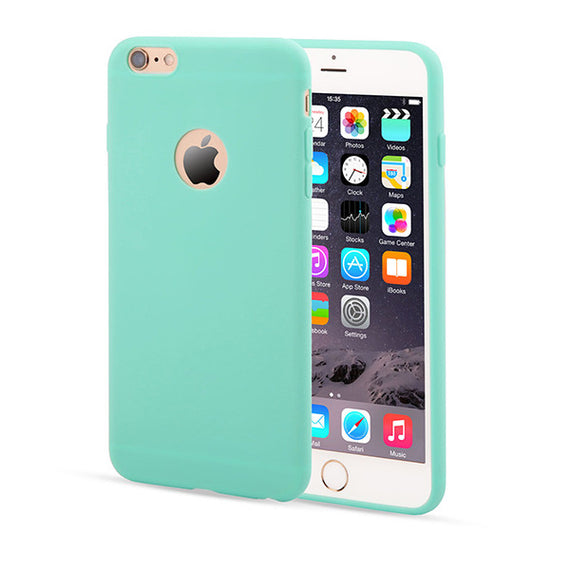 Candy Color Silicon iPhone Cases-Dee SuSu-Light Blue-For Iphone 5 5s SE-Dee SuSu