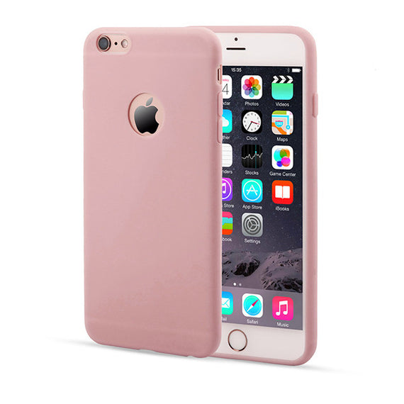 Candy Color Silicon iPhone Cases-Dee SuSu-Pink-For Iphone 5 5s SE-Dee SuSu