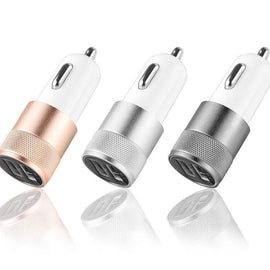Portable Universal USB Car Charger Dual 2-port Car-charger Charge Adapter For Smart Phones-Dee SuSu-Dee SuSu