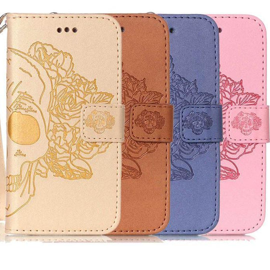 Wallet Leather Phone Cases With Card Slot For iPhone-Dee SuSu-Dee SuSu