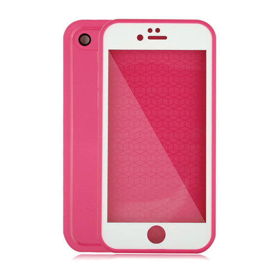 Waterproof Case For iPhone 7 6 6s Plus 5 5S SE-Dee SuSu-Rose and White-For Iphone 5 5s SE-Dee SuSu