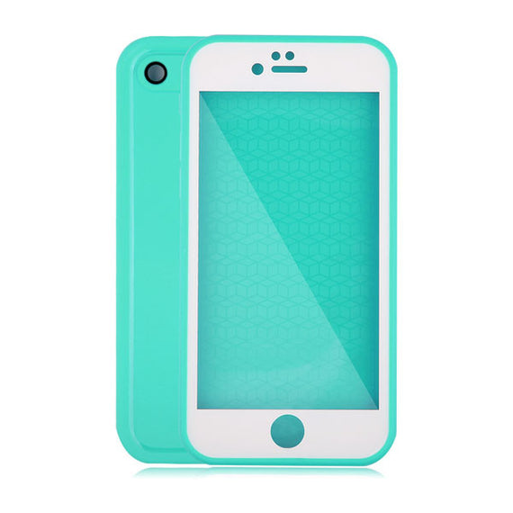 Waterproof Case For iPhone 7 6 6s Plus 5 5S SE-Dee SuSu-Green and White-For Iphone 5 5s SE-Dee SuSu