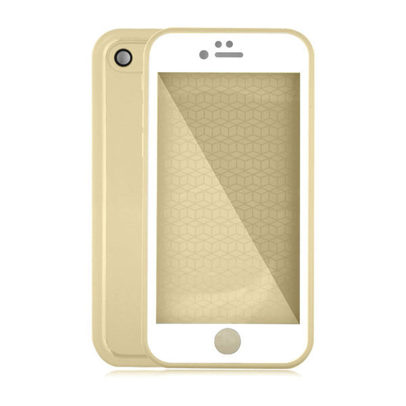 Waterproof Case For iPhone 7 6 6s Plus 5 5S SE-Dee SuSu-Clear Gold-For Iphone 5 5s SE-Dee SuSu