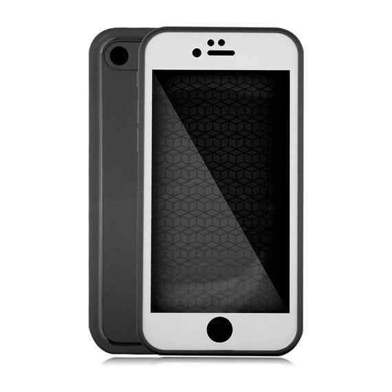 Waterproof Case For iPhone 7 6 6s Plus 5 5S SE-Dee SuSu-Black and White-For Iphone 5 5s SE-Dee SuSu