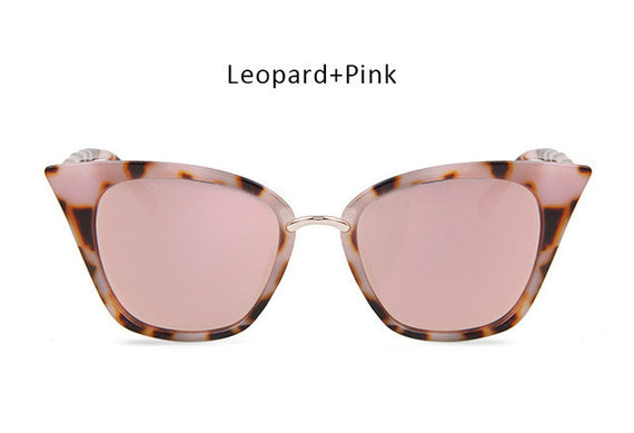Vintage Cat Eye Inspired Sunglasses-sunglasses-Dee SuSu-leopard pink-Dee SuSu