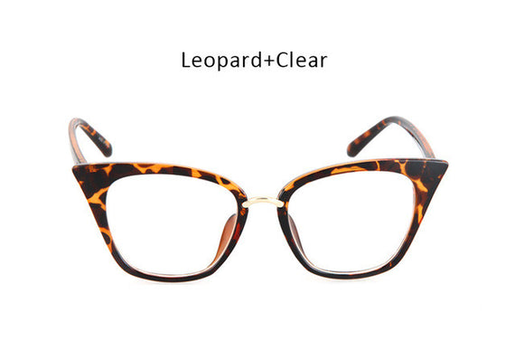 Vintage Cat Eye Inspired Sunglasses-sunglasses-Dee SuSu-leopard clear-Dee SuSu