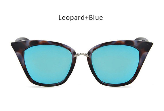 Vintage Cat Eye Inspired Sunglasses-sunglasses-Dee SuSu-leopard blue-Dee SuSu