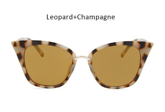 Vintage Cat Eye Inspired Sunglasses-sunglasses-Dee SuSu-leopard champagne-Dee SuSu