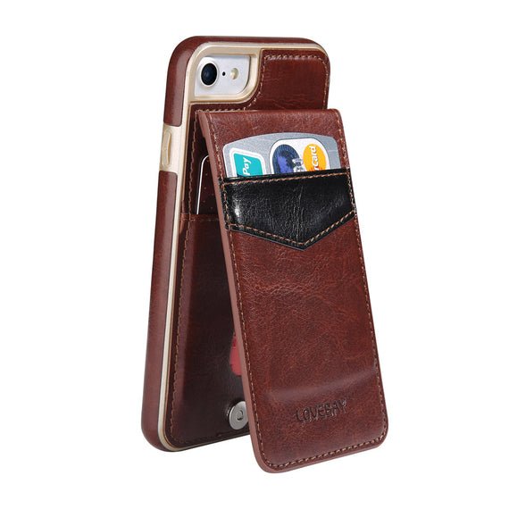 Protective back Card Holder Phone Case For iPhone-Dee SuSu-Dee SuSu