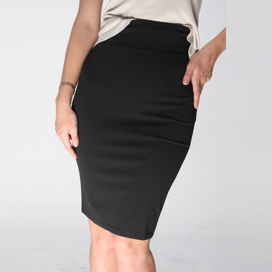 Simple Classic Pencil Skirt-Dee SuSu-Black-XS-China-Dee SuSu