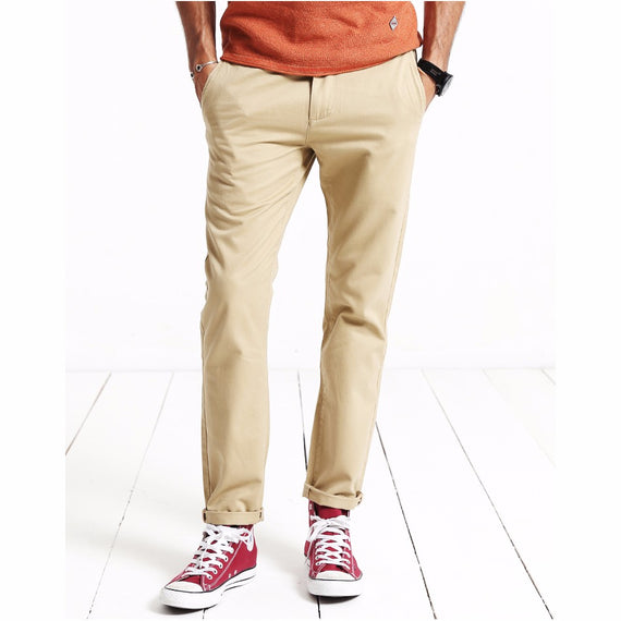 Slim Fit Straight Casual Pants-Dee SuSu-Dee SuSu