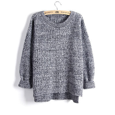 Knit Swallowtail Sweater-Dee SuSu-LMY17 GREY-One Size-Dee SuSu