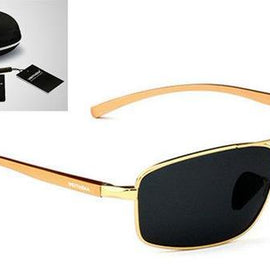 Men's Polarized Sunglasses-Dee SuSu-Gold box-Dee SuSu