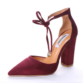 Ankle Wrap High Heels-shoes-Dee SuSu-red-6-Dee SuSu