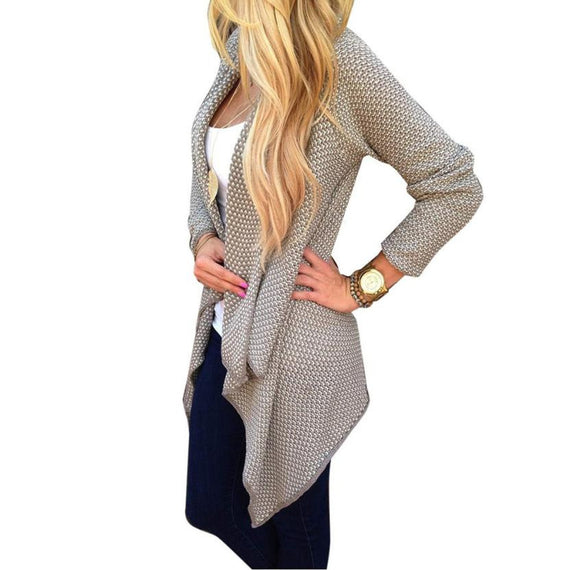 Long Sleeve Cardigan Warm Coat-Dee SuSu-Dee SuSu