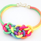 Knot Statement Necklace-Dee SuSu-Multi-50cm-Dee SuSu