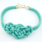 Knot Statement Necklace-Dee SuSu-Green-50cm-Dee SuSu