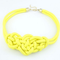 Knot Statement Necklace-Dee SuSu-Yellow-50cm-Dee SuSu