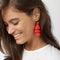 Fringed Tassel Statement Earrings-Dee SuSu-Dee SuSu