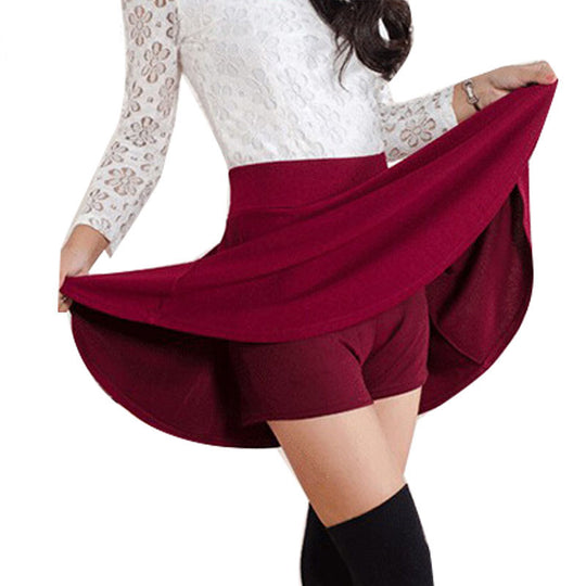 Summer Style Korean high waist pleated mini skirt-Dee SuSu-Dee SuSu