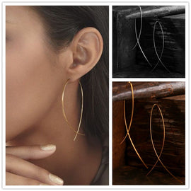 Simplistic Wire Earrings-Dee SuSu-Dee SuSu