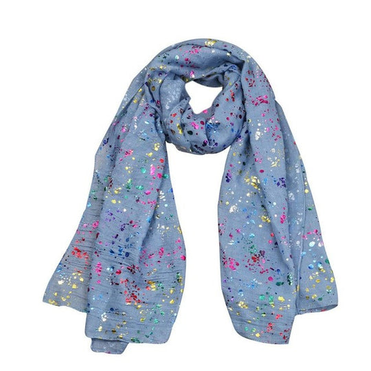 Pop of Colour Scarf-Dee SuSu-Navy-China-Dee SuSu