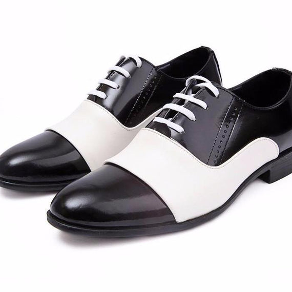 Pointed Toe Leather Dress Shoes For Men-Dee SuSu-Dee SuSu