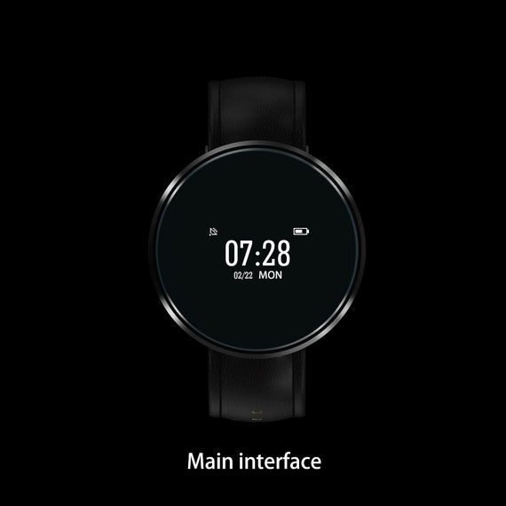 Smart Wristwatch with Heart Rate Sleep Monitor for Smartphones-Dee SuSu-Dee SuSu