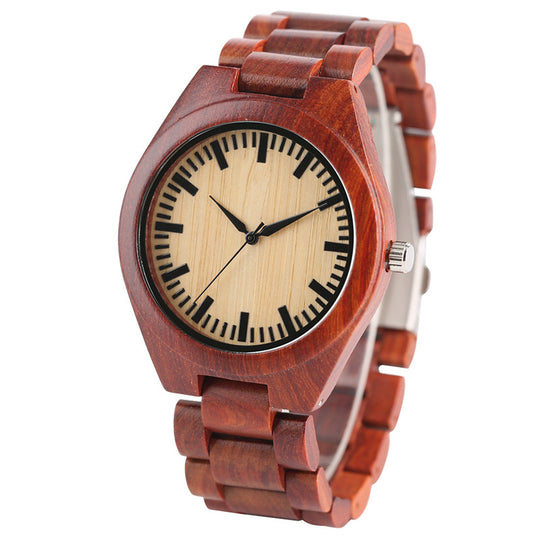 Casual Bangle Nature Wood Wrist Watch For Men and Modern-Dee SuSu-Dee SuSu