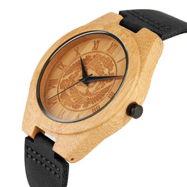 Bamboo Wooden Watch for Men With Unique Tree Dial Design-Dee SuSu-Dee SuSu
