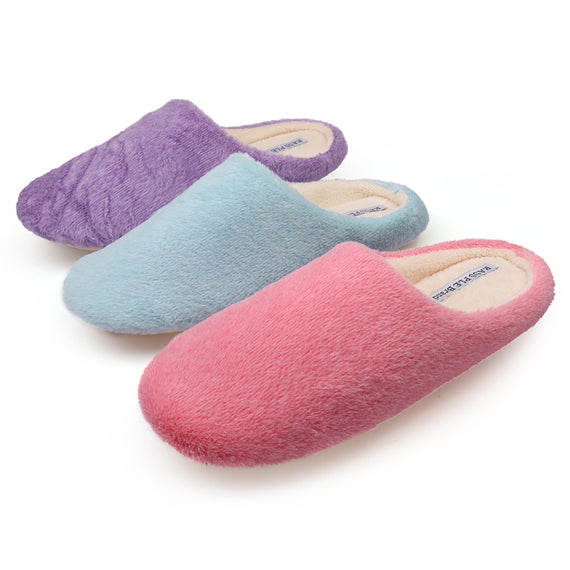 Comfortable Soft Plush Cotton Indoor Slippers-Dee SuSu-Dee SuSu