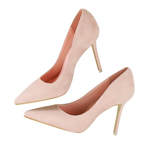 Pointed Toe High Heels-shoes-Dee SuSu-pink-3.5-Dee SuSu