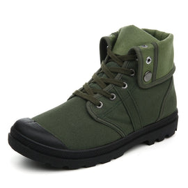 Comfortable Army Combat Style Fashion High-top Military Ankle Boots/Sneakers