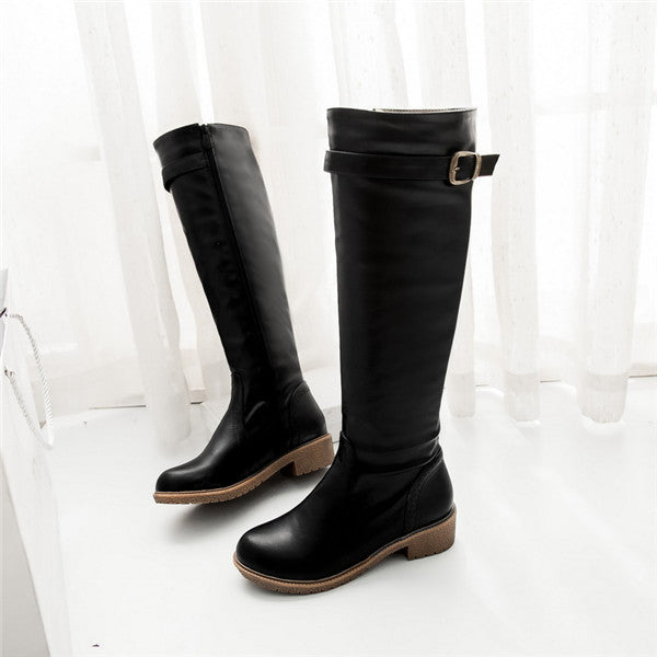 Riding Boots-Dee SuSu-Black-4-Dee SuSu