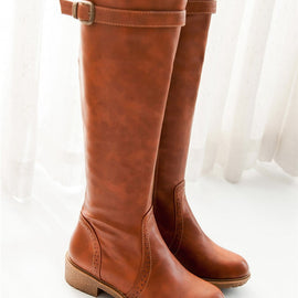 Riding Boots-Dee SuSu-Tan-4-Dee SuSu