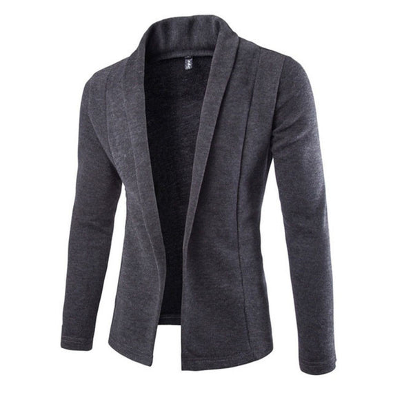 Cardigan for Winter - Men Long Sleeve Sweater-Dee SuSu-Dee SuSu