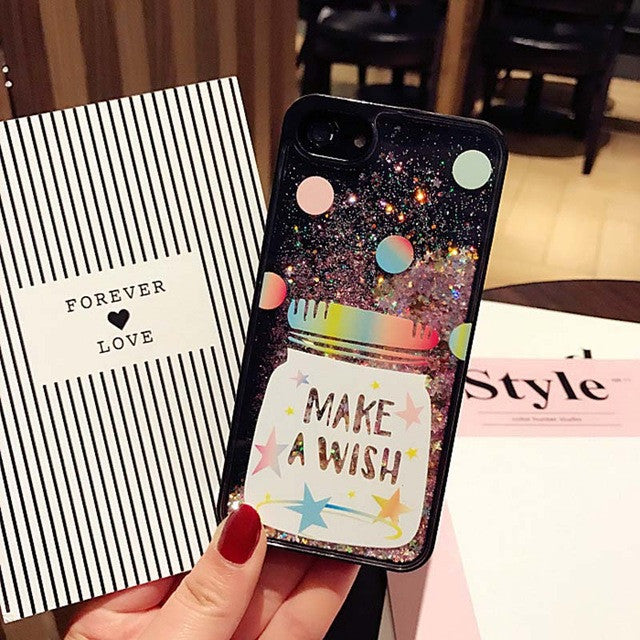 Bling Colorful Star Dynamic Liquid quicksand Phone Case For iphone 7 6 6s Plus-Dee SuSu-Type 2-For iphone 6 6S-Dee SuSu