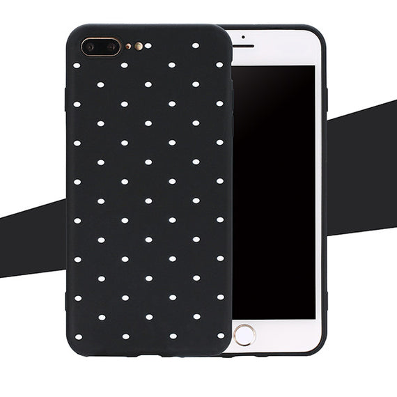 Ultra thin Soft Back Cover For iphone 8 8 Plus Fitted Case-Dee SuSu-Black-For iphone 5 5s SE-Dee SuSu