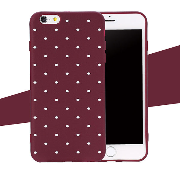 Ultra thin Soft Back Cover For iphone 8 8 Plus Fitted Case-Dee SuSu-Wine Red-For iphone 5 5s SE-Dee SuSu