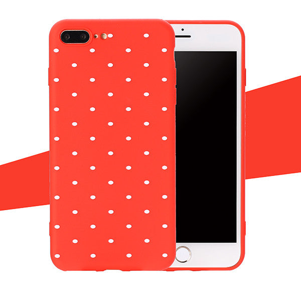 Ultra thin Soft Back Cover For iphone 8 8 Plus Fitted Case-Dee SuSu-Red-For iphone 5 5s SE-Dee SuSu