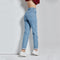 Vintage Slim Pencil High Waist Jeans-Dee SuSu-Dee SuSu