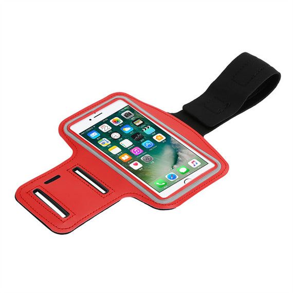 Gym Jogging Pouch Arm Band Phone Bag For All Smartphones-Dee SuSu-Red-Dee SuSu
