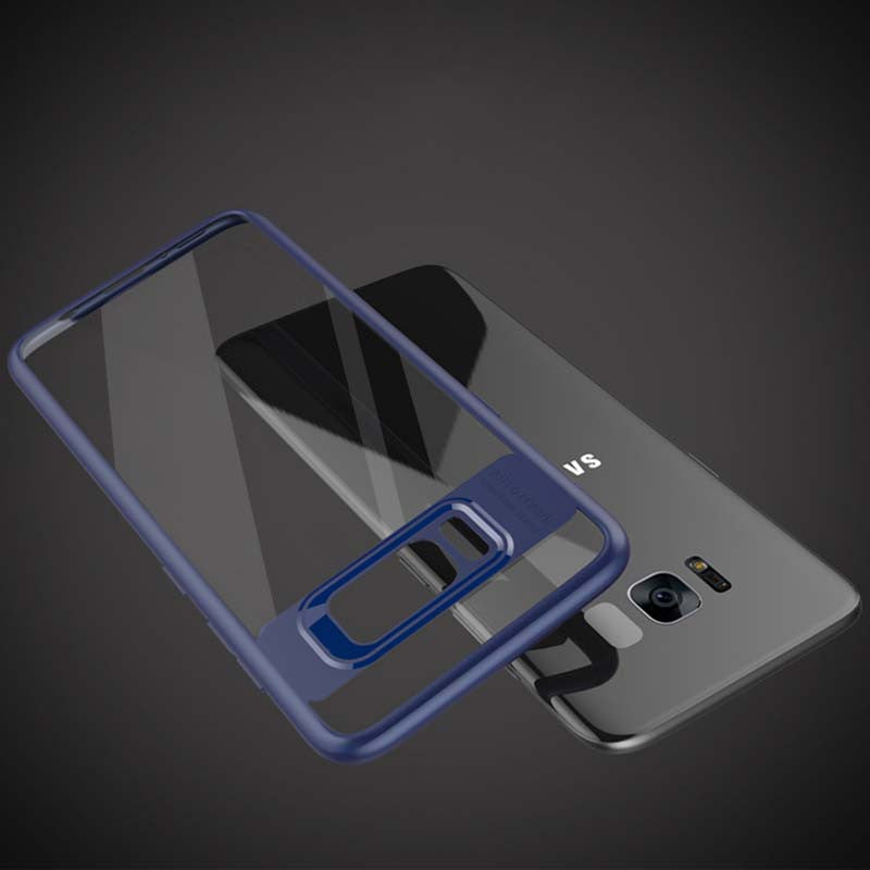 Fitted Slim Transparent Silicone Shockproof Armor Cases For Samsung-Dee SuSu-Dee SuSu